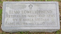Elmo Lowell Phend
