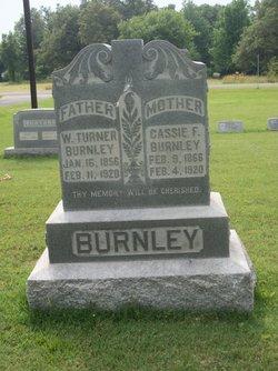 W Turner Burnley