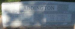 Cora Iola Ola <i>Cundiff</i> Addington