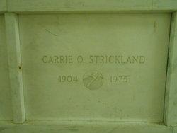 Carrie O <i>Cook</i> Strickland
