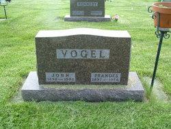 Frances M. <i>Nutz</i> Vogel