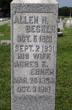 Agnes <i>Ebner</i> Becker