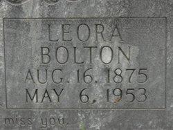 Leora <i>Hunt</i> Bolton