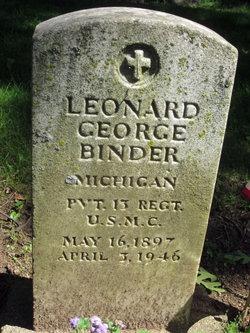 Leonard George Binder