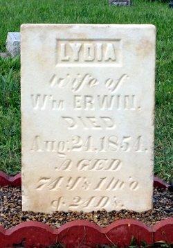 Lydia <i>Lewis</i> Erwin