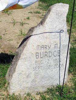 Mary Margaret <i>Baker</i> Burdge