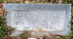 Lena <i>Pate</i> Scott