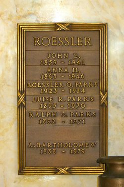 Ada <i>Roessler</i> Bartholomew