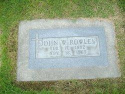 John William Jack Rowles