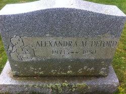 Alexandra M Deford
