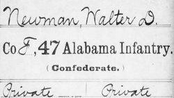 Walter D. Newman, Sr