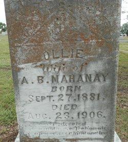Ollie L. <i>Morris</i> Mahanay
