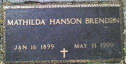 Matilda <i>Erikson</i> Brenden