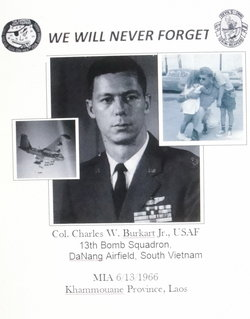 Col Charles William Bill Burkart, Jr