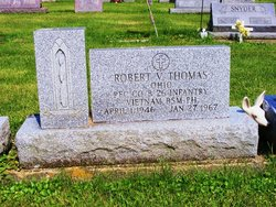 PFC Robert Virgil Bobby Thomas