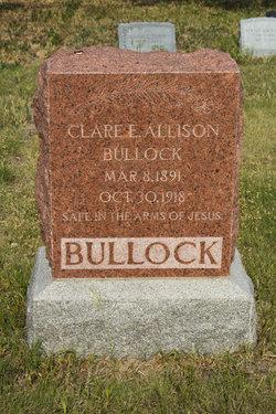 Clare Ella <i>Allison</i> Bullock
