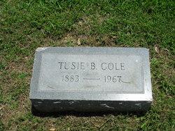 Tusie Belle <i>Harmon</i> Cole