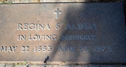 Regina S Alden