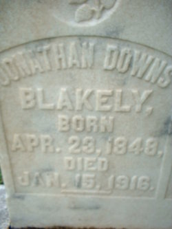 Jonathan Downs Blakely