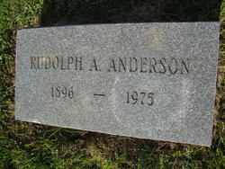 Rudolph Alfred Anderson