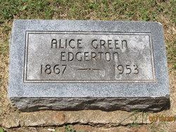 Alice Melissa <i>Green</i> Edgerton