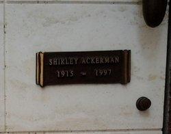Shirley Ackerman