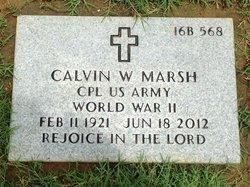 Calvin Marsh