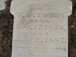 Rebecca H <i>Bryant</i> Forbs