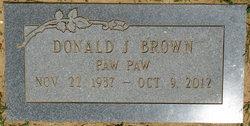 Donald Joe Brown, Sr