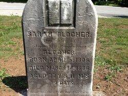 Sarah Blocher