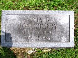 Alpha B Montgomery