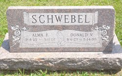 Alma G <i>Findley Schwebel</i> Akers