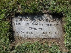 Sgt Arnold Davidson