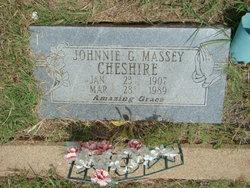 Johnnie G <i>Massey</i> Cheshire