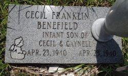 Cecil Franklin Benefield