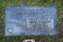 Mary Roseann Anderson