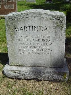 Jean L <i>Richardson</i> Martindale
