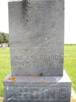 Esther Ann <i>Reed</i> Anding