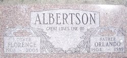 Florence Margarette <i>Wangsness</i> Albertson