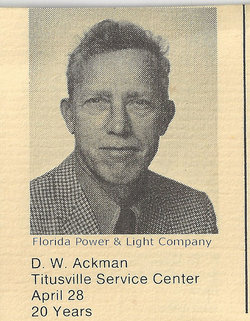 Donald Willard Don Ackman