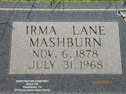 Irma Lane <i>Olive</i> Mashburn