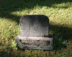 Eliza <i>Wallett</i> Alexander