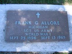 Frank G Allore