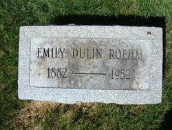 Emma Emily May <i>Dulin</i> Roehm