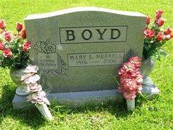 Mary Ellen <i>Merrell</i> Boyd