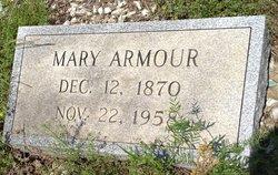 Mary A. <i>Faulkner</i> Armour