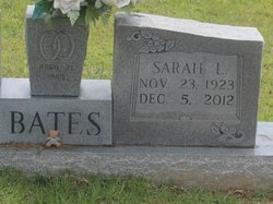 Sarah Lucille <i>Holiday</i> Bates
