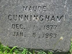 Maude S <i>Metier</i> Cunningham