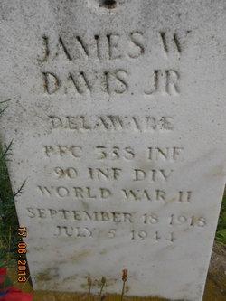 PFC James Wallace Davis, Jr