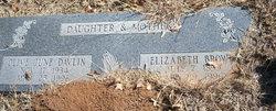Elizabeth Virginia <i>Shawver</i> Brown